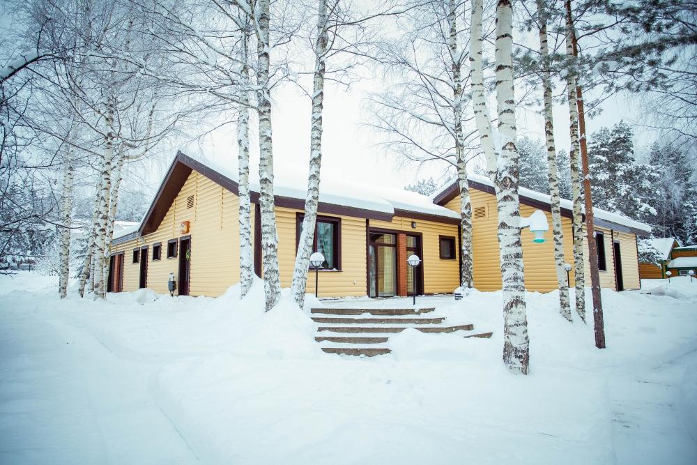 Дом отдыха на селигере зимой